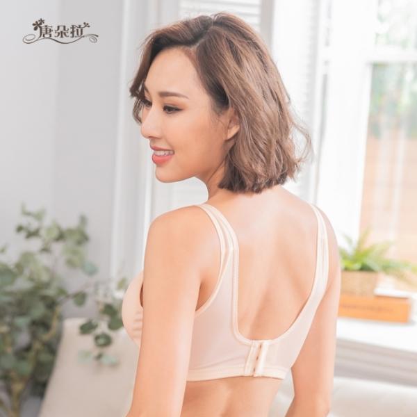無鋼圈內衣台灣製造大尺碼運動透氣 咖啡紗 無束縛 孕婦內衣-膚色BCD32.34.36.38.40(202033) 2