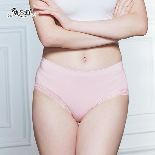 超優彈性L-XL 莫代爾舒適手感 親膚好穿/女內褲/單品平口褲【 唐朵拉 】(329) 2
