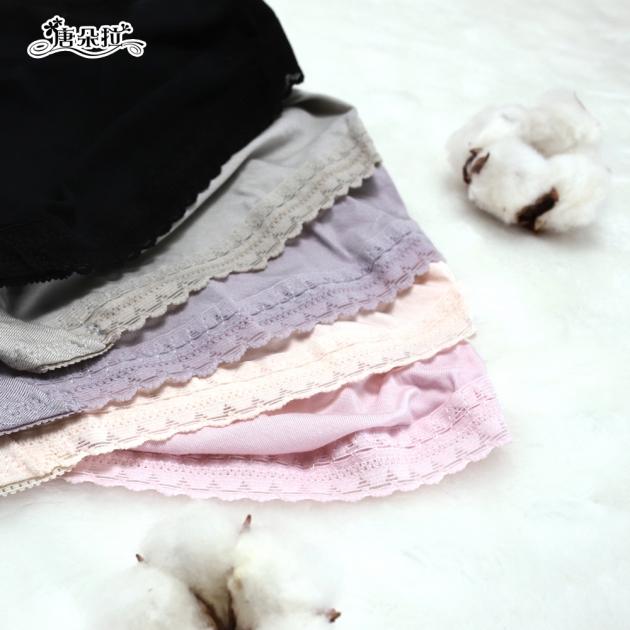 莫代爾 L-XL 輕柔舒適 星星吊墜 透氣親膚好穿/女內褲/單品平口褲【 唐朵拉 】(389) 5