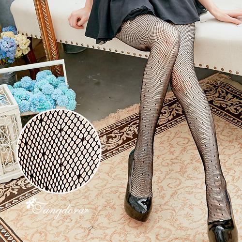 【 唐朵拉 】點點性感小網格網襪 性感魅惑/超薄絲襪/貼身褲襪/透膚襪(281) 1